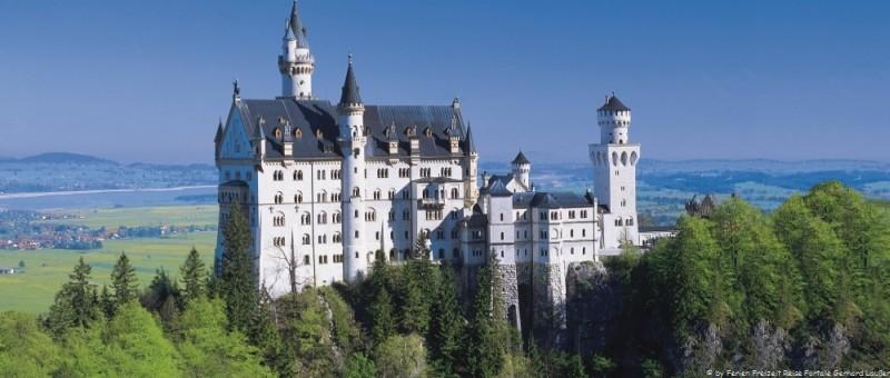 Sehenswürdigkeiten in Schwangau - Schloss Neuschwanstein Märchenschloss von König Ludwig