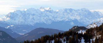 Almhüttenurlaub in den bayerischen Alpen Panorama