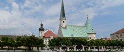 Sehenswertes in Altötting Wallfahrtskirche in Niederbayern