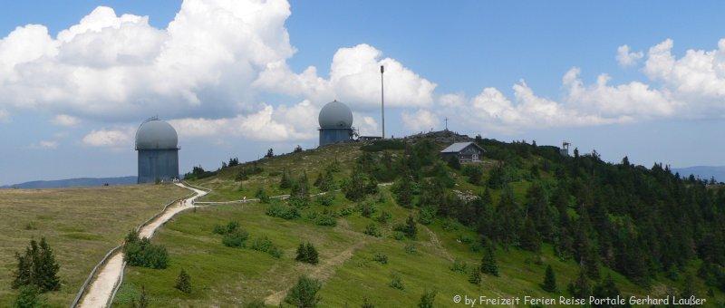 Rundwanderweg Großer Arber Gipfel Wanderung