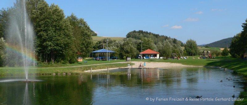 Arracher Seepark Badesee und Freizeitanlage