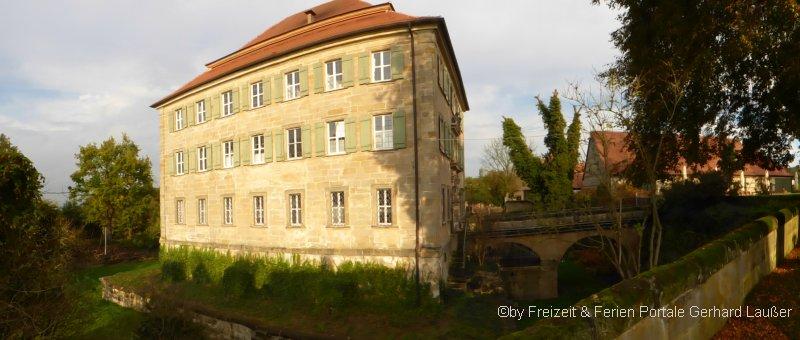 Sehenswürdigkeiten Schloss Atzelsberg in Marloffstein