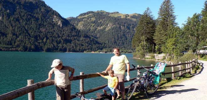 Freizeitangebote Allgäu Ausflugstipps Radfahren See