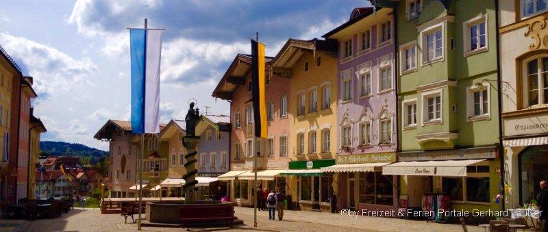 Sehenswürdigkeiten von Bad Tölz dem beliebten Ausflugsziel in Oberbayern