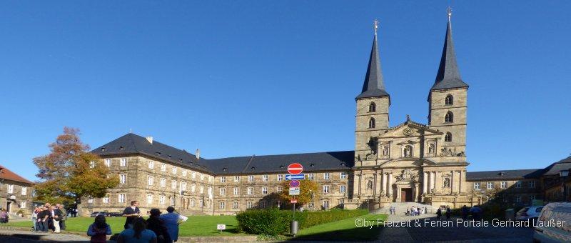 St Michael Kloster am Michelsberg Bamberg Ansicht