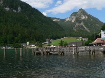 Ausflugsziele Berchtesgadener Land Königssee Bootssteeg