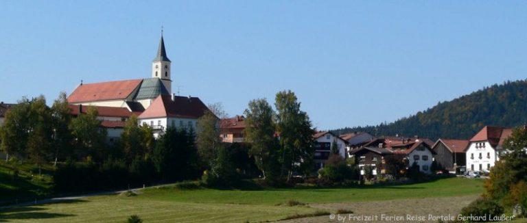 ausflugsziele-bischofsmais-sehenswürdigkeiten-niederbayern-dorfansicht-panorama-660