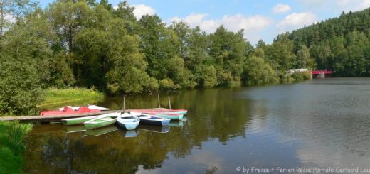 blaibacher-see-bayerischer-wald-baden-boot-fahren-panorama