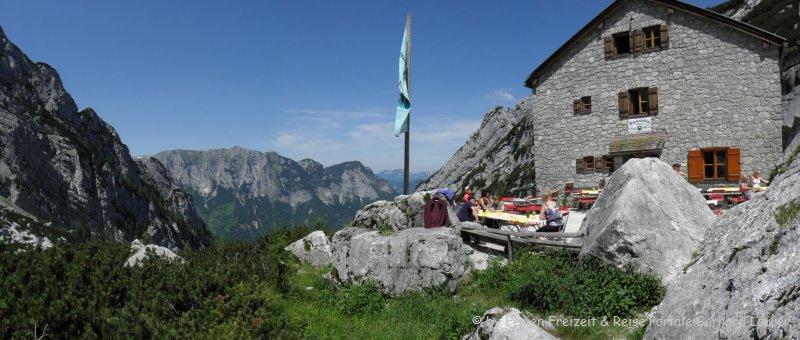 Wanderung Blaueishütte Schärtenspitze Ramsau