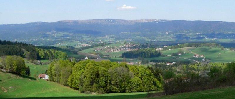 Ausflugsziele Breitenberg Wandern Dreiländereck
