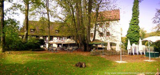 burg-gaillenreuth-ausflugsziel-fraenkische-schweiz-schlossgarten