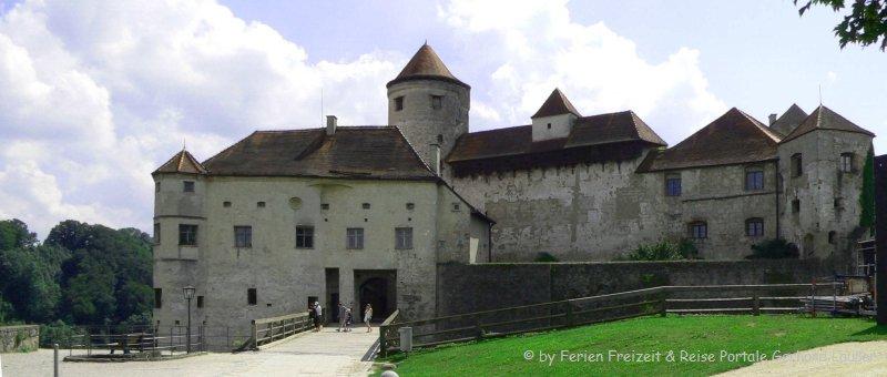 Ausflugsziel Oberbayern Burghausen Burg bei Altötting