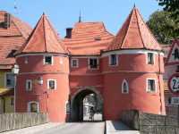 Biertor Cham eine der Sehenswürdigkeiten Bayerischer Wald