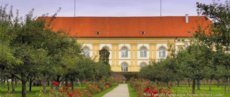 Ausflugsziele und Sehenswürdigkeiten Dachau Schloß Hofgarten