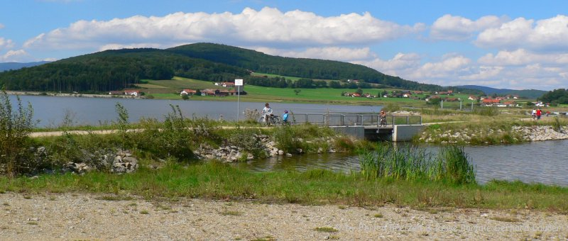 Ausflugsziele Furth im Wald Drachensee Radfahren