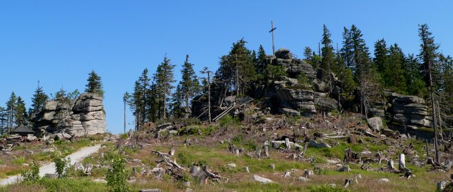 Dreiländereck Bayerischer Wald Wandern Dreisessel