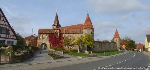 effeltrich-sehenswürdigkeiten-ortskern-kirchenburg-ausflugsziele