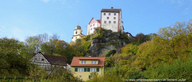ausflugsziele-egloffstein-sehenswürdigkeiten-burg-kapelle-wahrzeichen