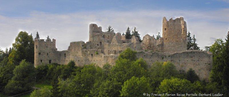 Burgen im Allgäu Ruine in Eisenberg