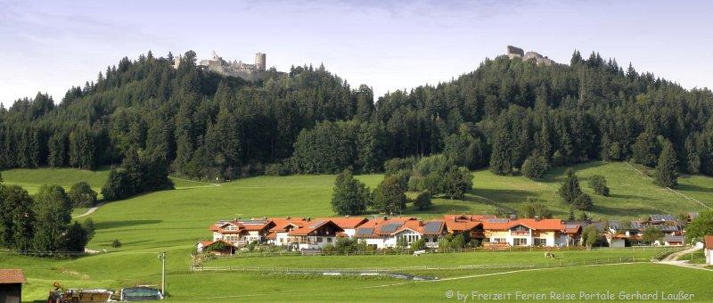 Sehenswüdigkeiten Allgäu Urlaub Tourismus und Freizeittipps