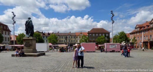 ausflugsziele-erlangen-sehenswürdigkeiten-innenstadt-schlossplatz-attraktionen