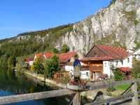 Brücke im Altmühltal