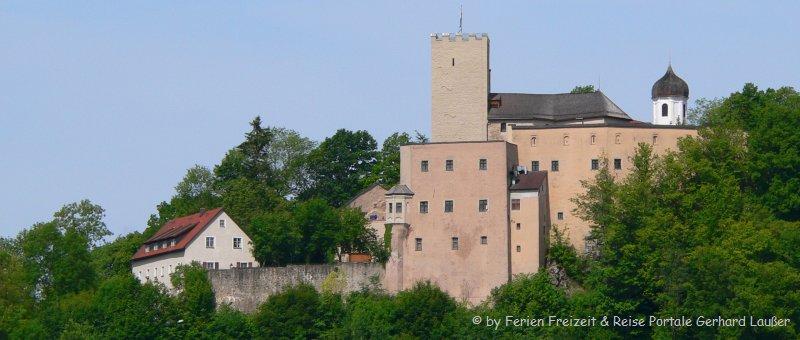 Burg Falkenstein Wandern Felsenpark Bayern