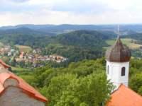 Blick von der Burg Falkenstein - Ausflugsziel Bayerischer Wald