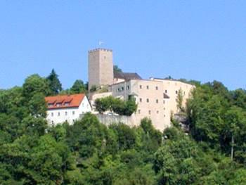 Historische Bauwerke in Bayern - Burgen Mittelalter Falkenstein