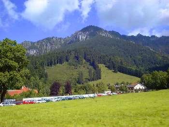 Ferienregionen Bayern deutsche Alpenstrasse Landkarte Bayern