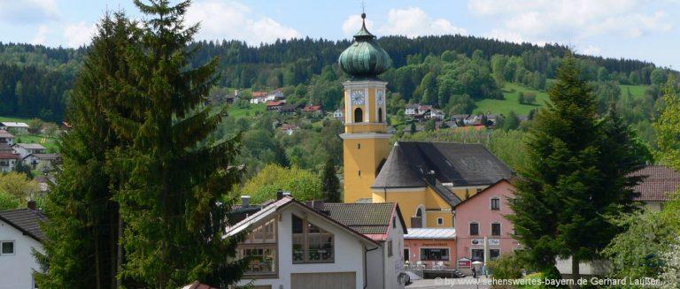 frauenau-ausflugsziele-ferienort-bayerischer-wald-pfarrkirche-sehenswürdigkeiten