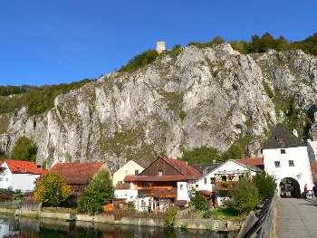Ausflugstipps Altmühltal Essing Burgruine Randeck