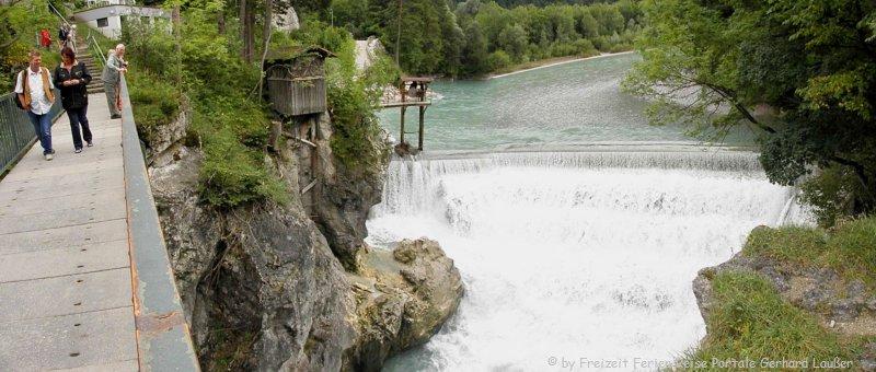 Lechfall bei Füssen wasserfall