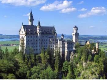 Schloss Neuschwanstein im Allgäu - Sehenswürdigkeiten Allgäu