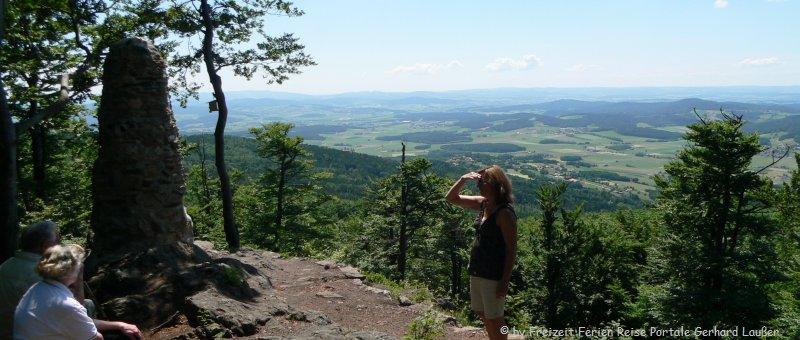 Wandern Gibacht Wanderweg Gipfelblick