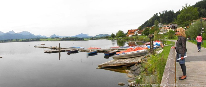 Ausflugsziele und Sehenswürdigkeiten Hopfen am See