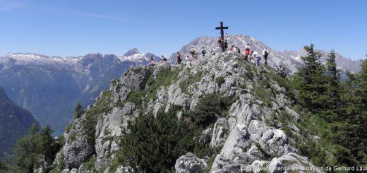 jenner-berggipfel-ausflugsziele-gipfelkreuz-berchtesgadener-alpen-highlights