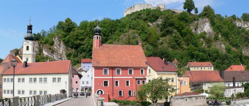 Künstlerdorf Bayern Kallmünz Burgruine Oberpfalz