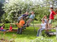 Kinderspielplatz Familienurlaub Bayerischer Wald