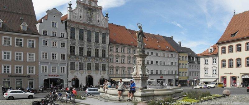 Sehenswürdigkeiten und Ausflugsziele Landsberg am Lech