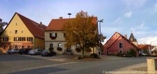 marloffstein-sehenswürdigkeiten-ort-gasthof-rathaus-feuerwehr-kirche