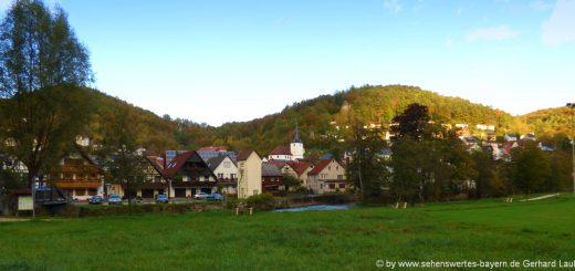 muggendorf-ausflugsziele-ortsansicht-fränkische-schweiz-landschaft