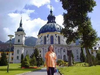 Kloster Ettal in Oberbayern - Kirchen in Bayern