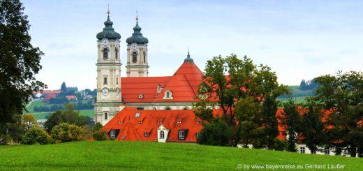 ausflugsziele-ottobeuren-sehenswürdigkeiten-bayern-klosterkirche