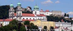 Stefansdom Passau Dreiflüssestadt in Niederbayern Burgen