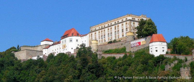 Sehenswürdigkeiten Passau Veste Oberhaus Museum