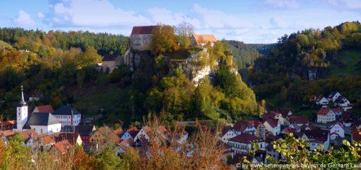 pottenstein-stadt-sehenswürdigkeiten-kirche-burg-fränkische-schweiz