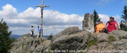 Nationalpark Bayerischer Wald großer Rachel bei Frauenau Berg Wandern