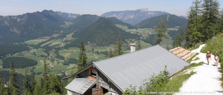 ramsau-schärtenalm-bergwanderung-berghütte-almhütte-aussichtspunkt