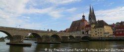 Städtereisen nach Bayern zum Beispiel in die Domstadt Regensburg